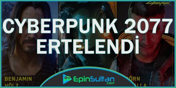 Cyberpunk 2077 Ertelendi