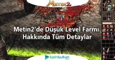 Metin2de Düşük Level Farmı | EpinSultan