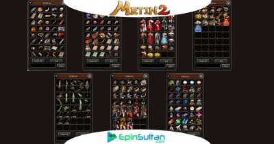 Metin2 Kaplan Kalkan Özellikleri Ve +Basmada Kullanılan Malzemeler