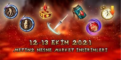 Metin2 Nesne Market İndirimleri 12-13 Ekim 2021| EpinSultan