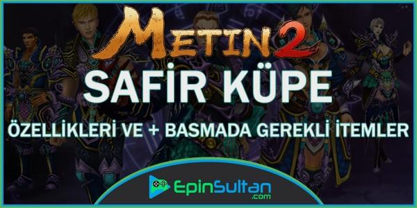 Metin2 Safir Küpe Özellikleri ve +Basmada Gerekli Malzemeler