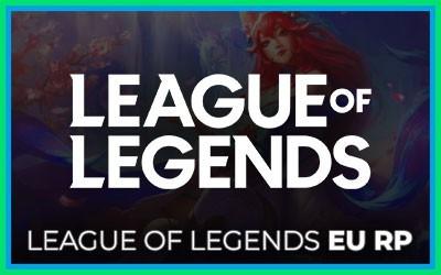 League Of Legends Eu West Riot Points