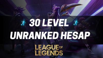 League Of Legends Unranked Hesap