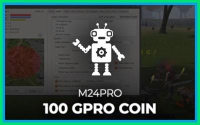 M24Pro 100 GproCoin