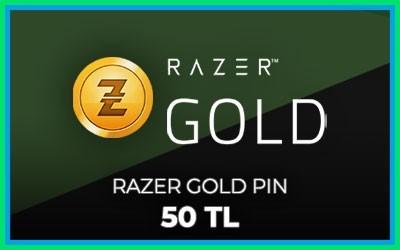 Razer Gold Pin 50 TL